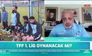 Murat Sancak: Ligler oynanacaksa sağlık tedbirleri alınmalı