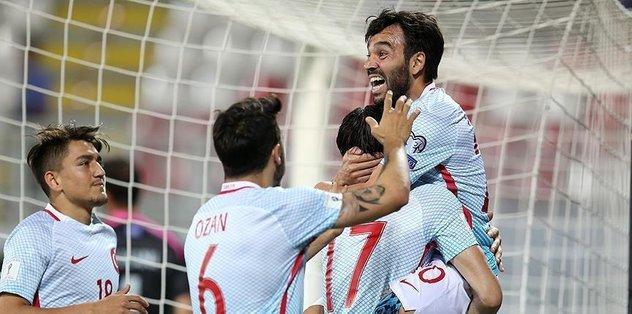 Turkey defeats Kosovo 4-1