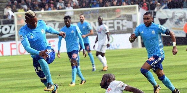 Olympique Marsilya deplasmanda galip