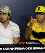Alonso'nun yerini Sainz alacak