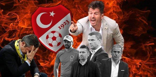 Fenerbahçe'de kriz büyüyor! Teknik direktör için TFF'ye başvuru...