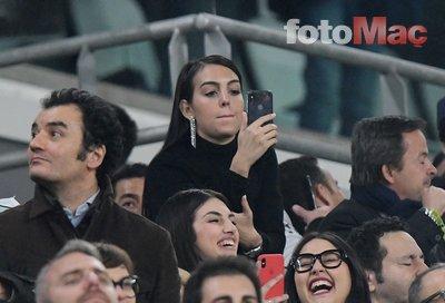 Ronaldo'nun sevgilisi Georgina Rodriguez sevinçten ağladı