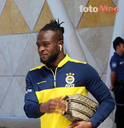 Fenerbahçe'ye Moses'tan son dakika şoku! Ayrılma kararı aldı   Son dakika haberleri