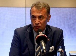 Beşiktaş'ta Başkan Fikret Orman konuştu