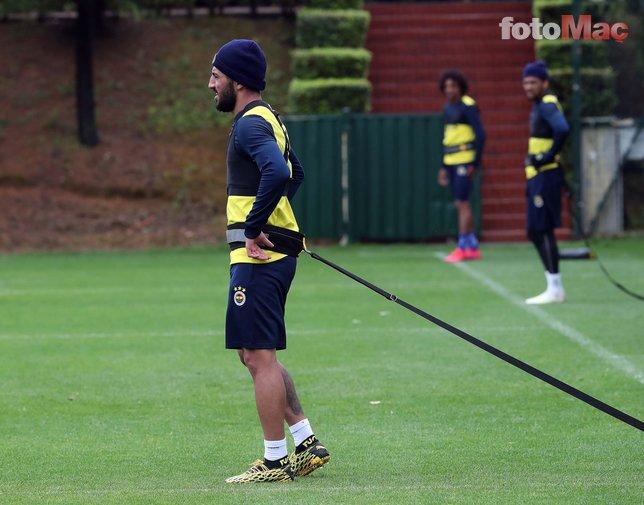Fenerbahçe'de hazırlıklar tam gaz! İşte idmandan kareler...