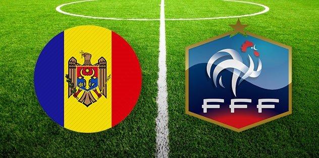 Moldova Fransa maçı ne zaman saat kaçta hangi kanalda? Türkiye'nin grubu...