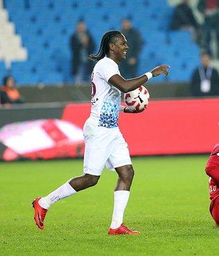 Trabzonspor'un nöbetçi golcüsü Rodallega