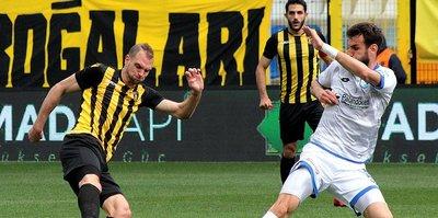 Erzurumspor ve İstanbulspor puanları paylaştı