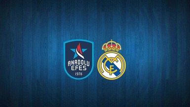 Final-Four için! Anadolu Efes - Real Madrid maçı ne zaman? Saat kaçta? Hangi kanalda? | THY Euroleague