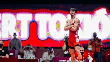 Milli güreşçi Kerem Kamal olimpiyat kotası aldı