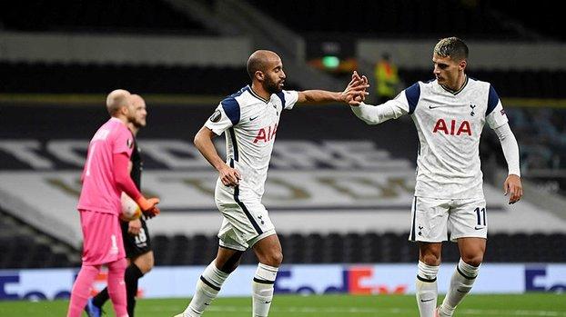 Tottenham 3-0 LASK Linz | Maç sonucu | Özet #