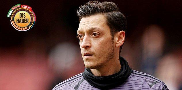 Mesut Özil noktayı koydu! Son güne kadar Arsenal'de kalacağım