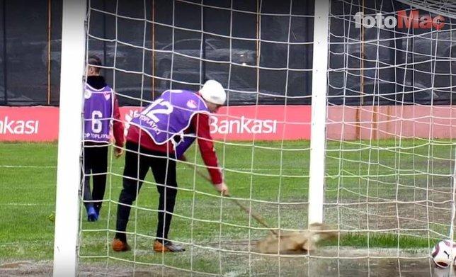 Medipol Başakşehir maçında inanılmaz görüntü! Yaşananlar...