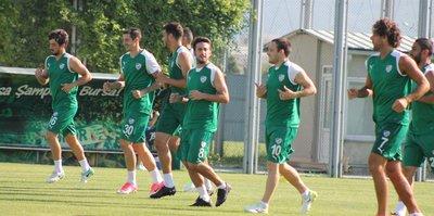 Bursaspor'da Batalla takıma katıldı
