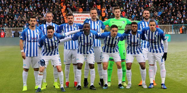 BB Erzurumspor'un ilk yarı karnesi