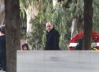 Fatih Terim babasının mezarını ziyaret etti