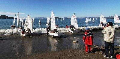 Yelkende Kış Kupası başladı
