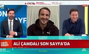 Ali Çamdalı: Başakşehir ile oynadığımız final maçını unutamıyorum