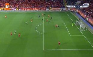 İşte Galatasaray'ın golü | İZLEYİN