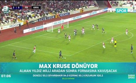 Max Kruse dönüyor