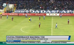 Kucka Fenerbahçe maçında yok