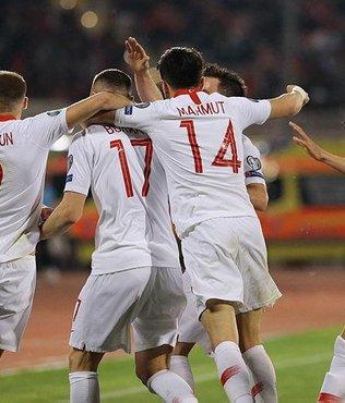 Arnavutluk basını da Milli Takımımıza övgüler dizdi
