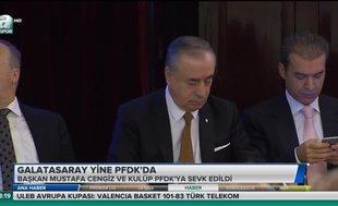 Galatasaray yine PFDK'da