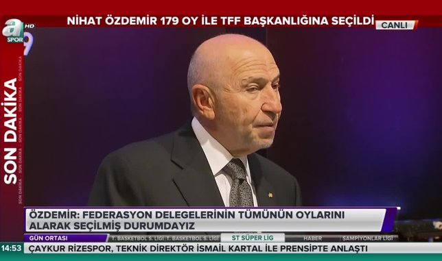 Nihat Özdemir: Rıdvan Dilmen ile görüştük