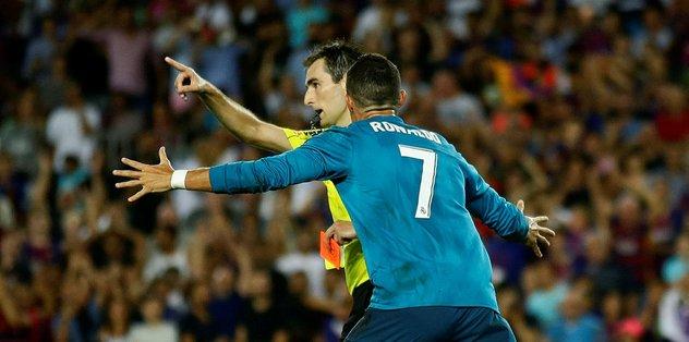 Real Madrid'e Cristiano Ronaldo şoku