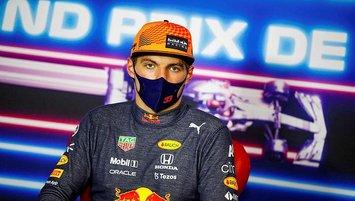 Fransa Grand Prix'de kazanan Max Verstappen