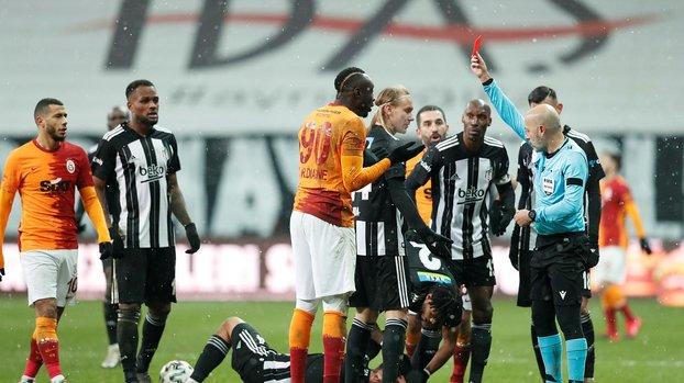 Beşiktaş-Galatasaray derbisine damga vurmuştu! Diagne'nin kırmızı kartında ilginç tesadüf... #