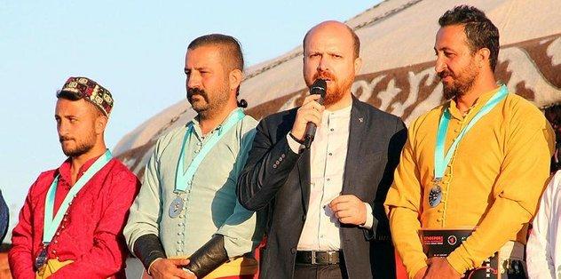 """Dünya Etnospor Konfederasyonu Başkanı Bilal Erdoğan: """"Kültürümüz yaşıyor"""""""