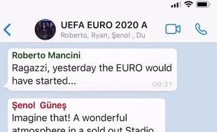 Şenol Güneş'ten rakip hocalarla WhatsApp görüşmesi! EURO 2020...
