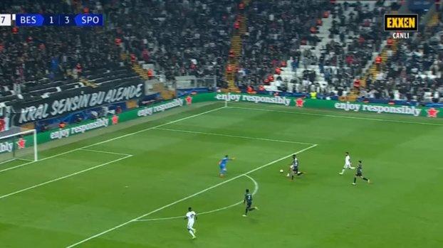 Beşiktaş Sporting maçında Batshuayi net pozisyondan faydalanamadı!