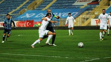 Adana Demirspor - Bursaspor: 1-2 (MAÇ SONUCU - ÖZET)