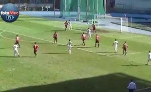 Zonguldak Kömürsporlu Onur'dan muhteşem gol