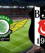 Ahkisarspor - Beşiktaş | CANLI