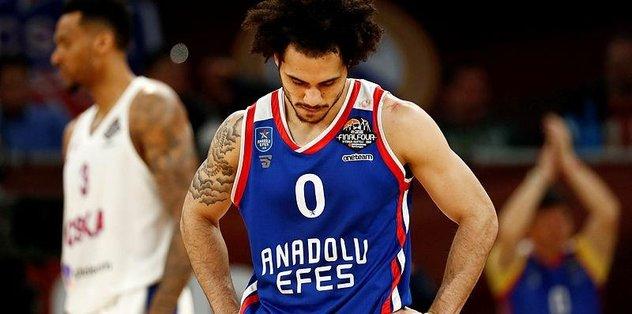 Anadolu Efes'in yıldızı Larkin için NBA takımları devrede
