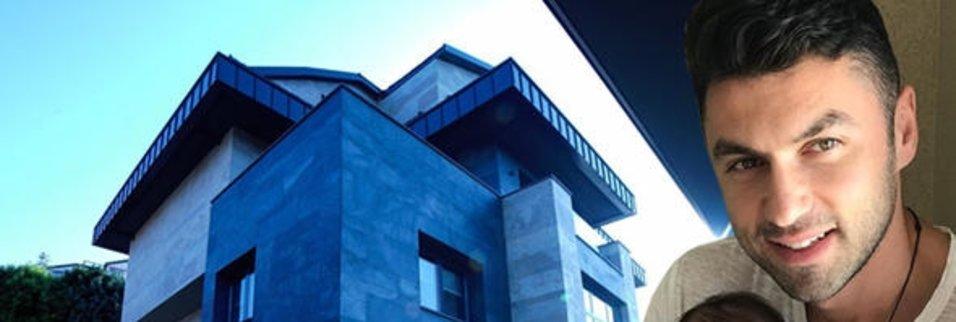 İşte Burak Yılmaz'ın ultra lüks evi