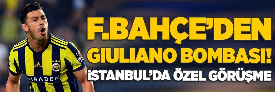 fenerbahceden giuliano bombasi istanbulda ozel gorusme 1595622179765 - Fenerbahçe - Çaykur Rizespor maçı ne zaman? Saat kaçta? Hangi kanalda? İlk 11'ler