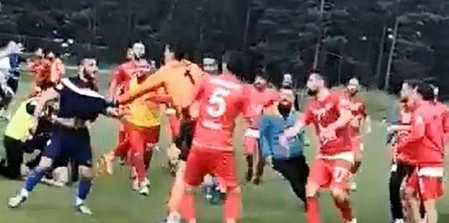 Rezalet! 3 futbolcu yaralandı