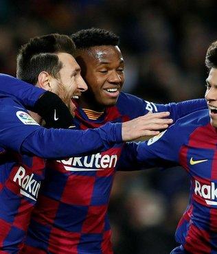Barcelona Ansu Fati'ye gelen 100 milyon euroluk teklifi reddetti