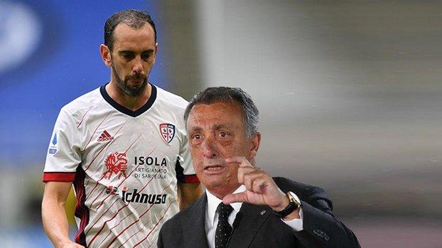Beşiktaş Başkanı Çebi'den Diego Godin'e veto! (BJK spor haberi)