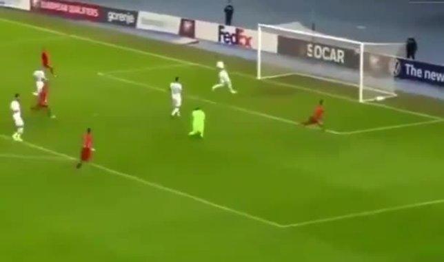 Eljif Elmas'tan harika 2 gol! Makedonya'yı sırtladı