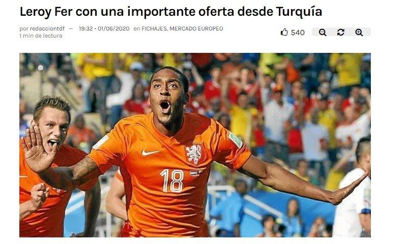 Beşiktaş'ın transfer teklifini yazdılar!Leroy Fer... - Futbol -