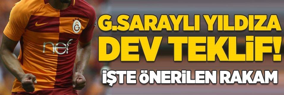Galatasaraylı yıldıza dev teklif! İşte önerilen rakam...