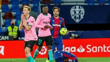 Barcelona liderliği kaçırdı!
