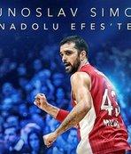 Krunoslav Simon Anadolu Efes'te