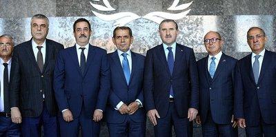 Bakan Bak ile Dursun Özbek görüşecek