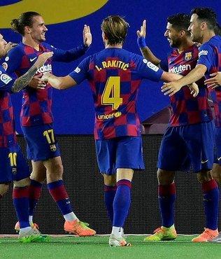 Barcelona tek golle kazandı!